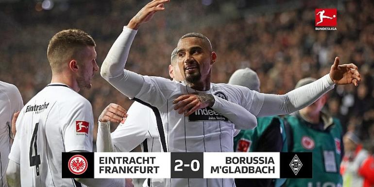 KP Boateng Scores To Propel Frankfurt To Victory Over Borussia Mönchengladbach