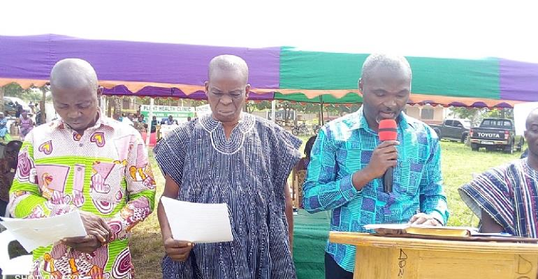Akatsi North DCE Urges Ghanaian Youth To Venture Into Farming