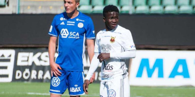 Europa League: Ghanaian Youngster Frank Arhin Cameos For Ostersunds FK In Draw With Hertha Berlin