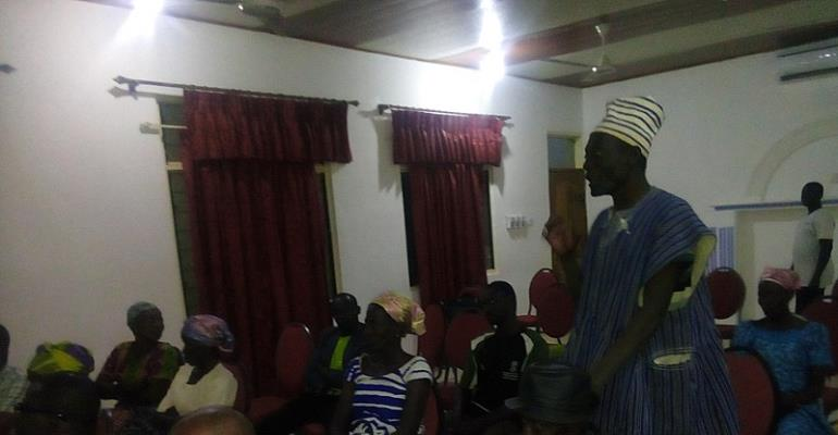 Chief in Upper East community pledges to support widows
