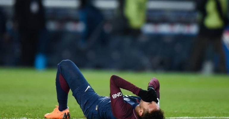 Neymar Out Of Champions League Clash With Manchester United