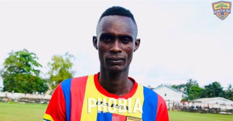 OFFICIAL: Hearts Terminate Camara N'Guessan Contract