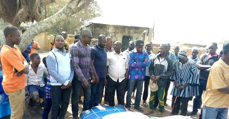 MP Supports Victims Of Recent Chieftaincy Conflict