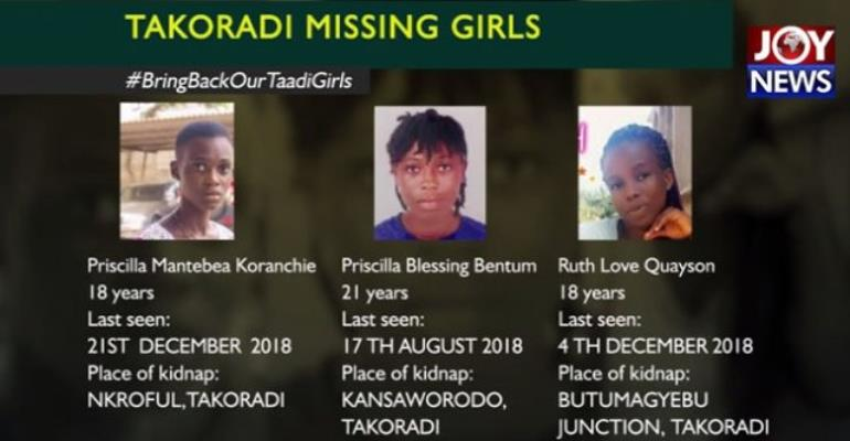 Takoradi Kidnapped Girls: Nigeria High Commission, Gender Minister Meet