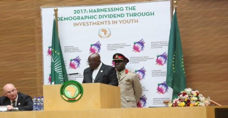 Full text: Akufo-Addo's vote of thanks at 28th AU Ordinary Session