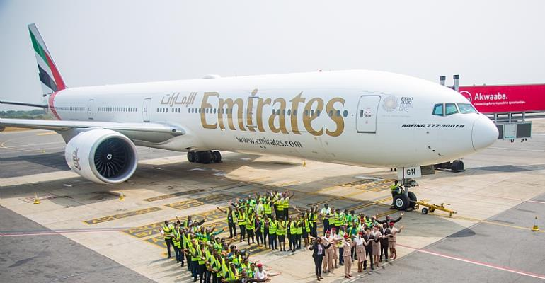 Emirates Celebrates 15 Years Of Connecting Ghana To The World