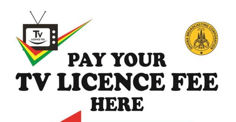 Payment Of TV Licence To Ghana Broadcasting Corporation (GBC)