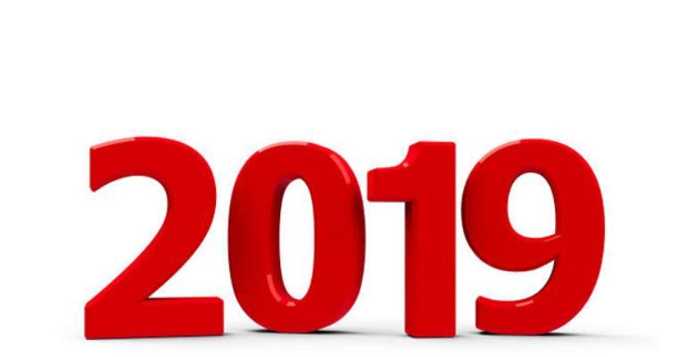 Behold 2019 Arrives