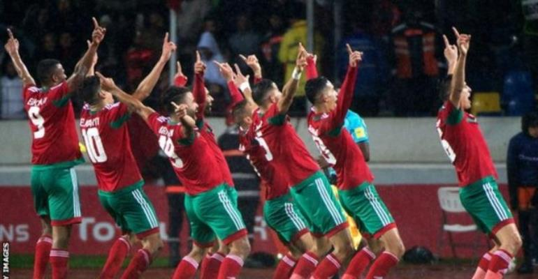 CHAN 2018 Morocco Beat Nigeria 4-0 In Final To Lift trophy