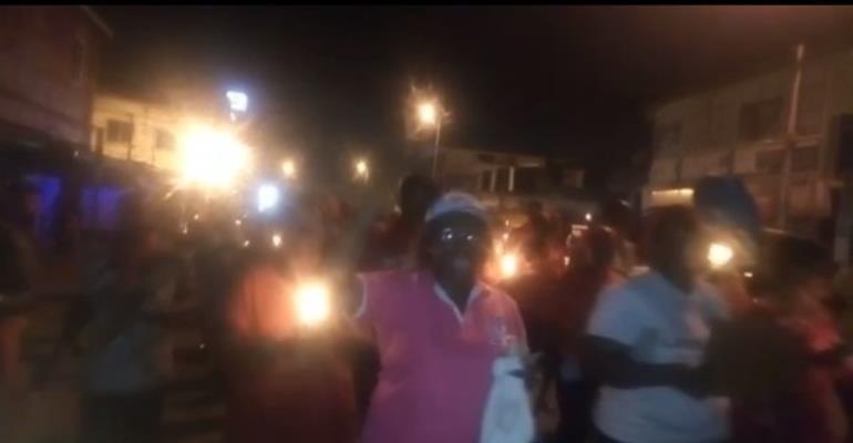 Takoradi: Vigil Held For Kidnapped Girls