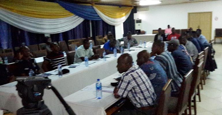 Section of participants at the workshop