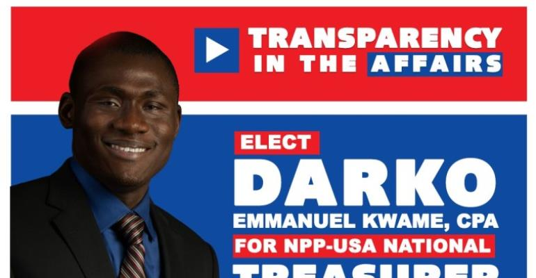 Accountant Launches Campaign For NPP-USA National Treasurer Position