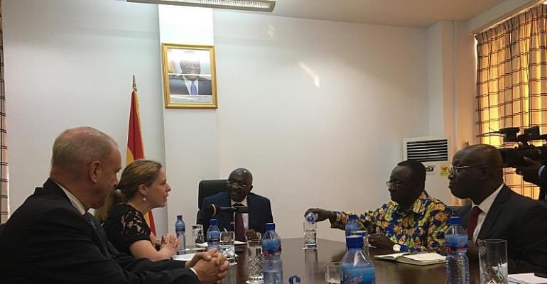 Dutch Vice Prime Minister And Minister Of Agriculture, Nature And Food Quality In Ghana