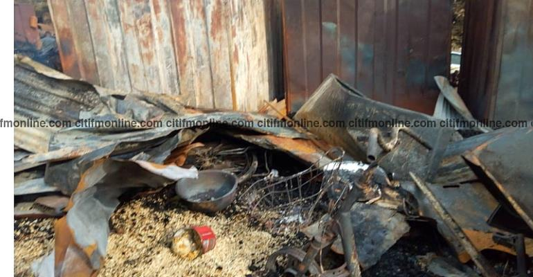 Fire Causes Havoc At Suame Magazine