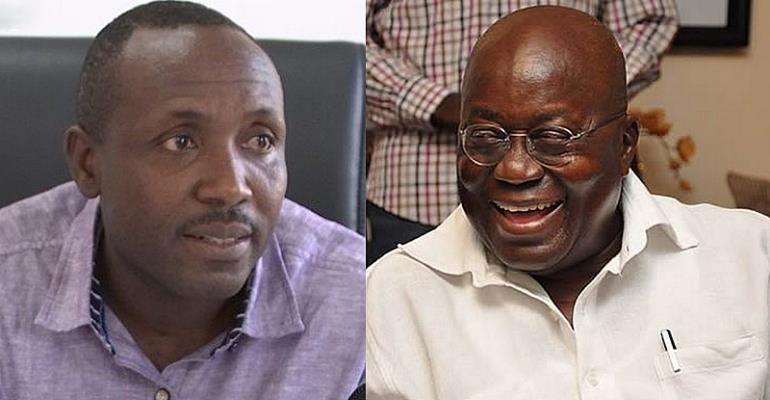 Mr. John Boadu and Prez Akufo-Addo