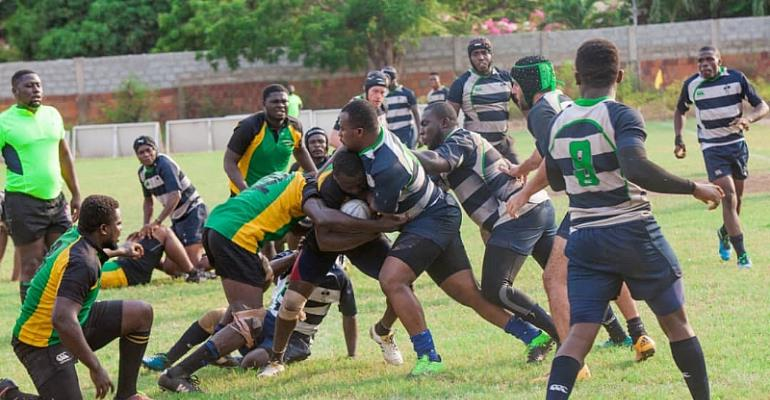 Update: Ghana Rugby Championship Gains Momentum As 'Smoke 'N' Barrel' Joins In Support