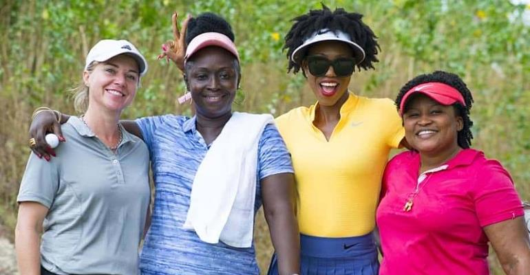 Host And Wine Affair At Bogoso, As Lady Captain Lavished On Her Birthday
