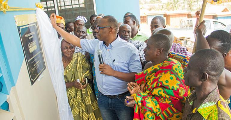 Pakyi Gets 6-Unit Classroom Block