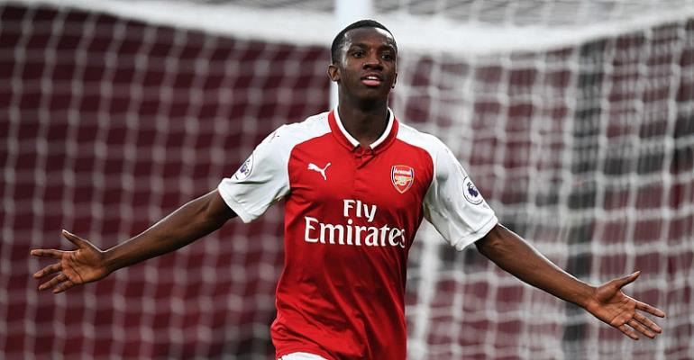 Ghanaian duo Eddie Nketiah And Callum Hudson-Odoi Shortlisted For Premier League U-23 Player Of The Month Award