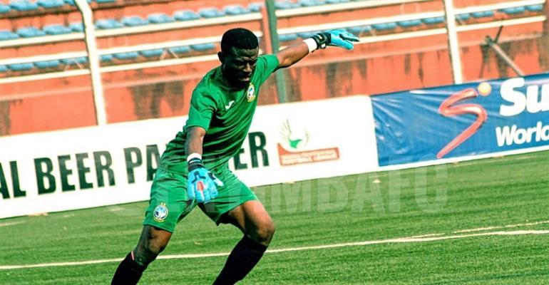 Ghana Goalie Fatau Dauda Makes NPFL Team Of The Week With Another Clean Sheet