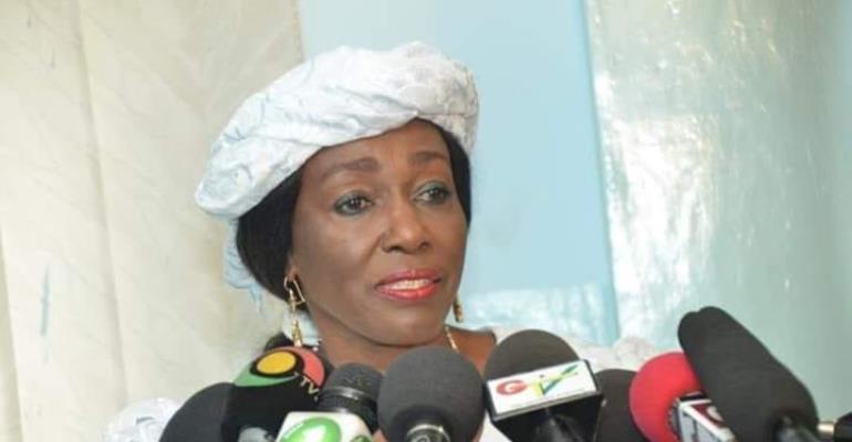 Former First Lady Nana Konadu