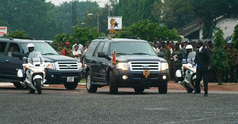 Over 200 State Cars Missing…Nana Addo Forced To Use His Private Vehicle!