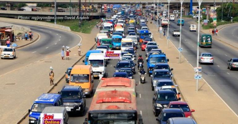 Akufo-Addo Expresses Frustrations Over Accra Traffic Jam