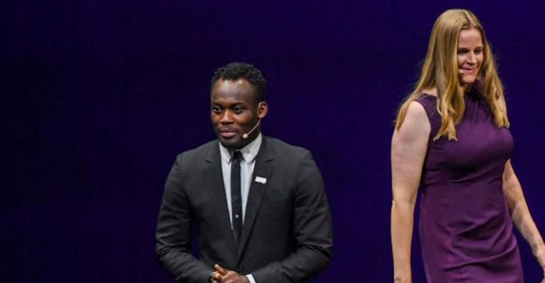 Michael Essien Named In FIFA Team Of Legends To Promote Women's World Cup