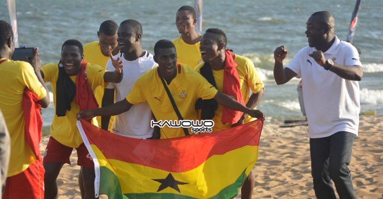 Ghana Beach Soccer Hits 10 Years