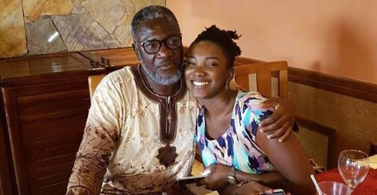 Ebony's Dad Speak; Ghana Was Blessed To Have My Queen