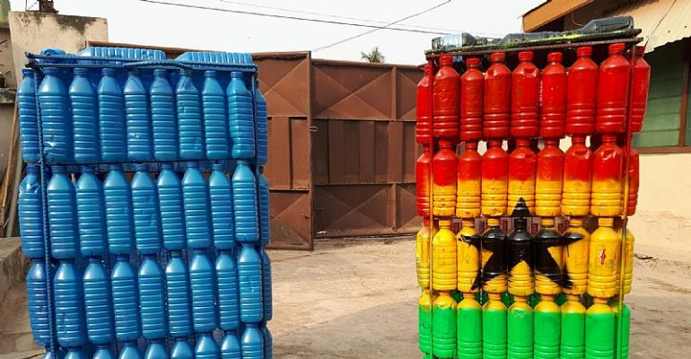 Plastic Waste For Dustbins, An Initiative To Curb Ghana's Sanitation Menace