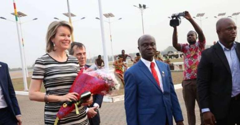Akufo-Addo Hosts Queen Of Belgium