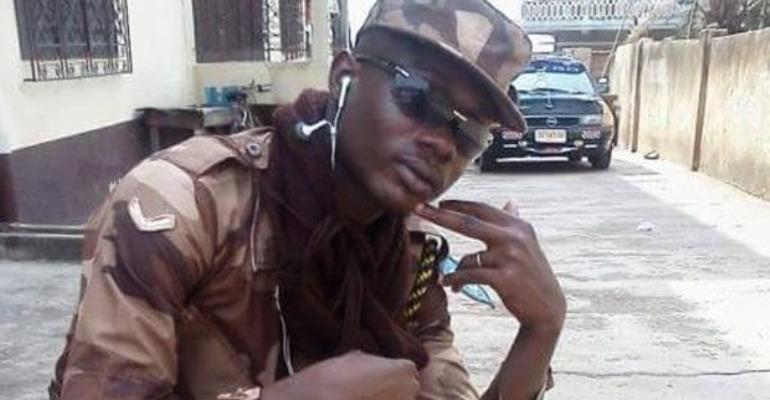 Lance Corporal Randy Obeng Wiafe Akenteng Francis
