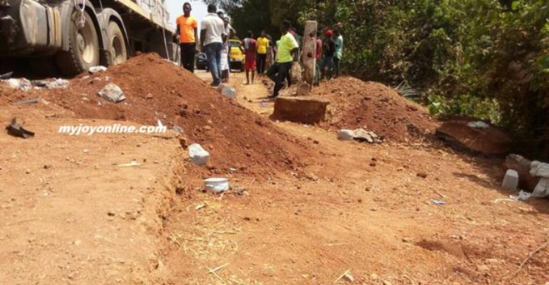 Heap Of Sand From Road Contractor Believed To Have Caused Ebony's Death