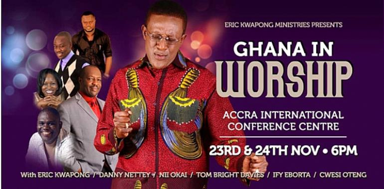 Ghana in Worship 2012: Ghanaians to Unite Globally in Worship for Peace and Accelerated Development for Elections 2012