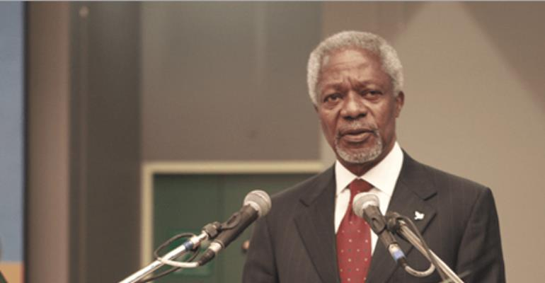 Kofi Annan Invited To Memorial Service In France For Accra Flood And Fire Victims