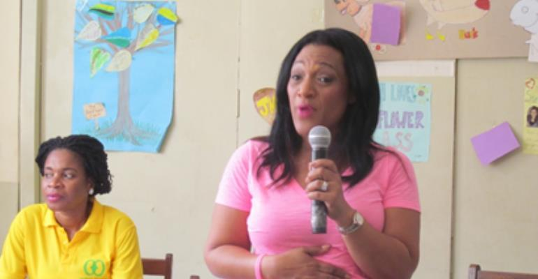 Mrs. Juliette Mills Lutterodt, President and Founder of Pink for Africa
