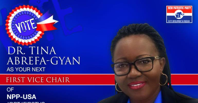 Tina Abrefa-Gyan, PhD Outlines Her Vision For NPP-USA