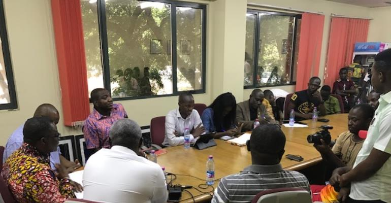 GOC Communications Team Interacts with Press Attaches [PHOTOS]
