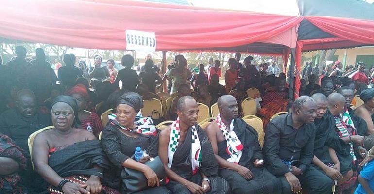 NDC Gurus attend Fmr. Sunyani MCE Oppong Ababio One week celebration