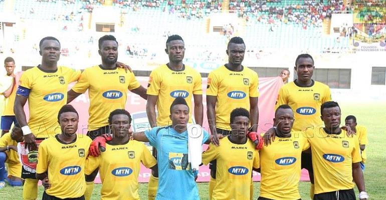 Four penalties missed as Asante Kotoko beat CARA Brazzaville