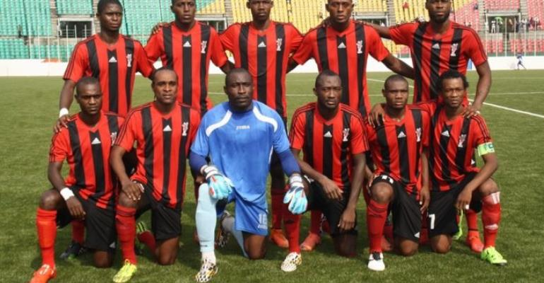 Kotoko miss three penalties in 1-0 CARA Brazzaville victory