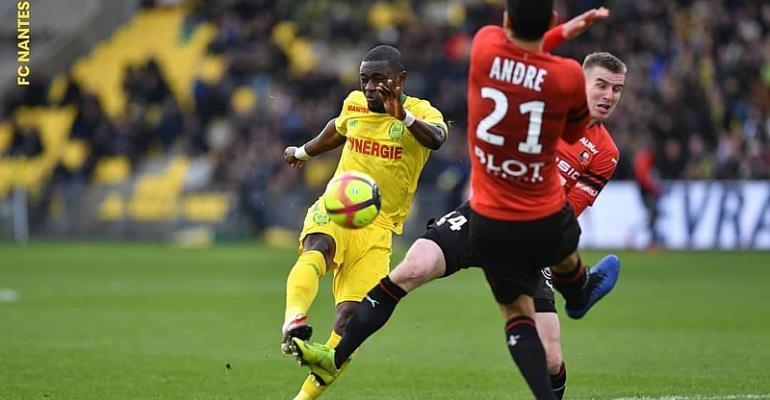 Abdul Majeed Waris Scores As Nantes Suffers Defeat At Home