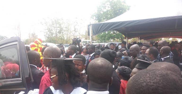 Large Crowd Bid Farewell To The Late Elder Frempong