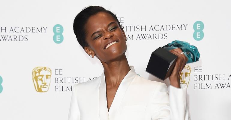 BAFTA Rising Star Award Winner Letitia Wright Glorifies God