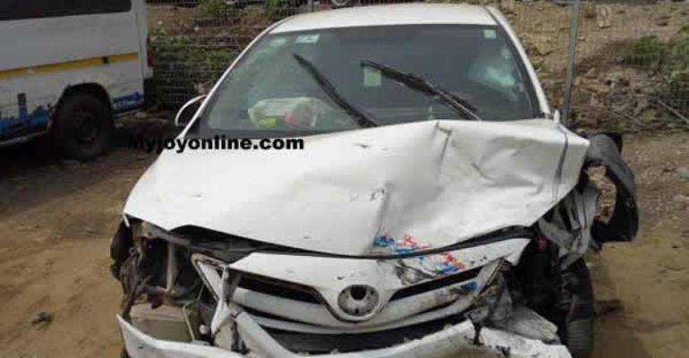Many Injured As Bukom Banku Car Crashed Into Benz Sprinter