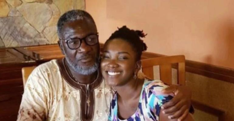 Ebony and father