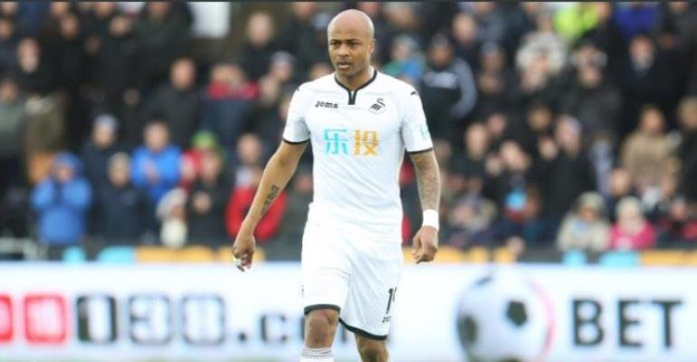 Swansea City attacker Andre Ayew declares himself fit to face Burnley