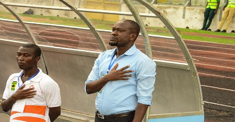 Put The Pressure On Me And Not My Players – CK Akonnor