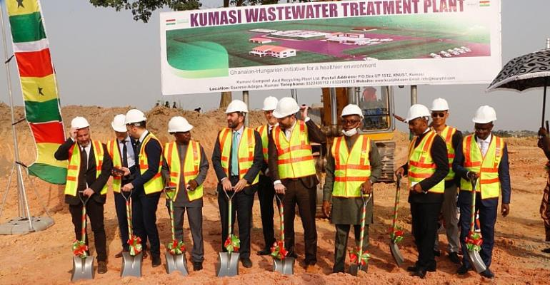 Jospong And Hungarian Partner To Solve Sewerage Problems In Kumasi